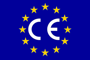Statement referring the requirement for CE marking for adhesives