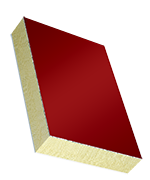 Sandwichelement COSMO Classic - einseitig ALU, XPS-Kern, PVC-Rückseite