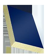 Sandwichelement COSMO Classic - beidseitig ALU, PUR-Kern