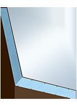 Sandwichelement COSMO Classic - beidseitig HPL, XPS-Kern