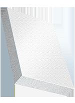 Sandwichelement COSMO Classic - beidseitig PVC Struktur, EPS-Kern