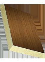 Sandwichelement COSMO Classic - beidseitig ALU/HD, PUR-Kern