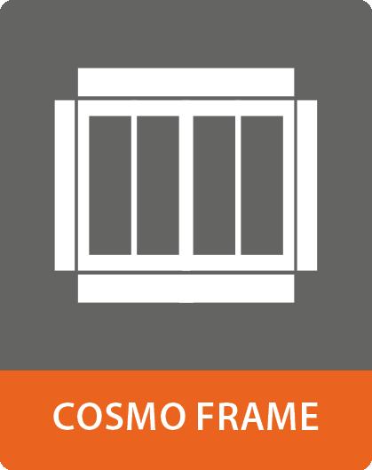 COSMO Frame Rahmenverbreiterungselemente