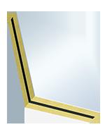 PVC su entrambi i lati, nucleo in XPS, inserto in lamina pesante