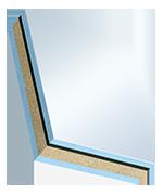 Elementi sandwich COSMO Frame (dB) - PVC