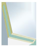 Elementi sandwich COSMO Frame - PVC