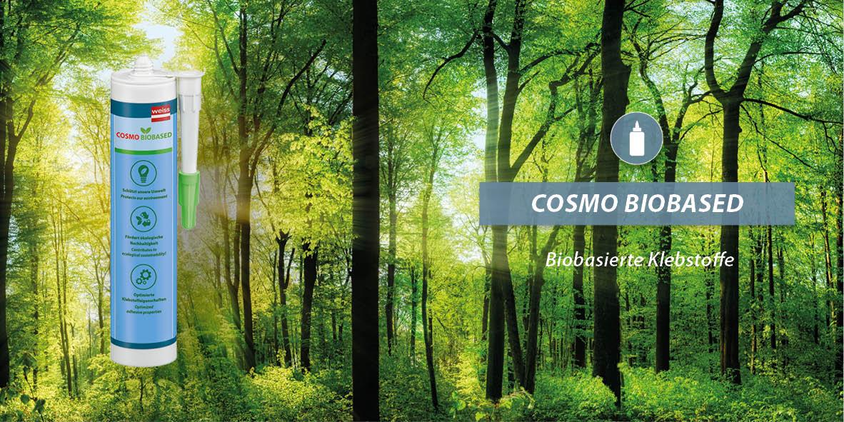 Biobasierte Klebstoffe - COSMO BIOBASED