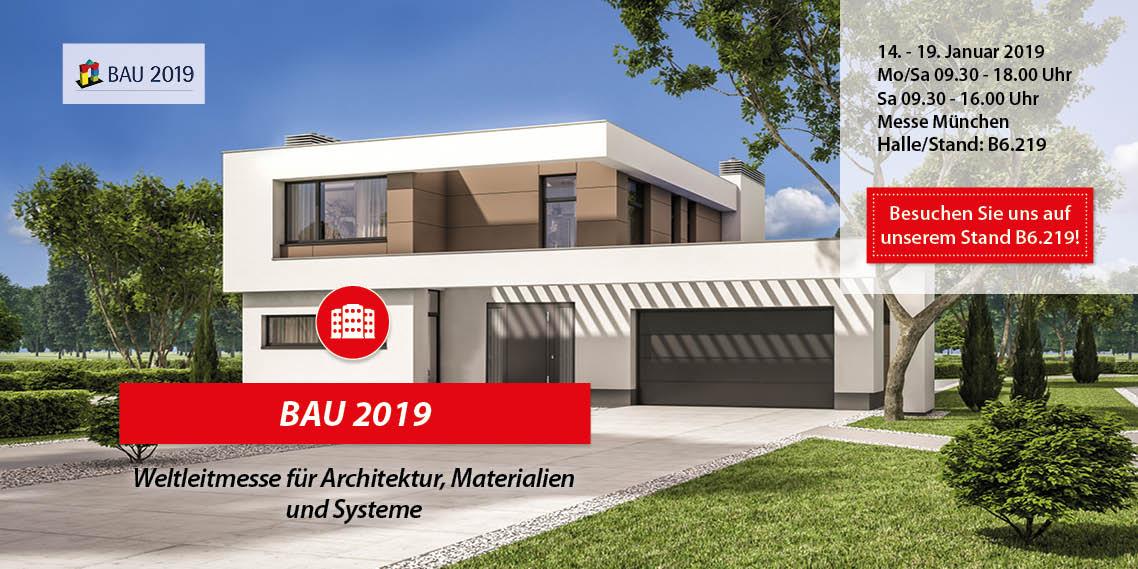 Messe Bau München 2019