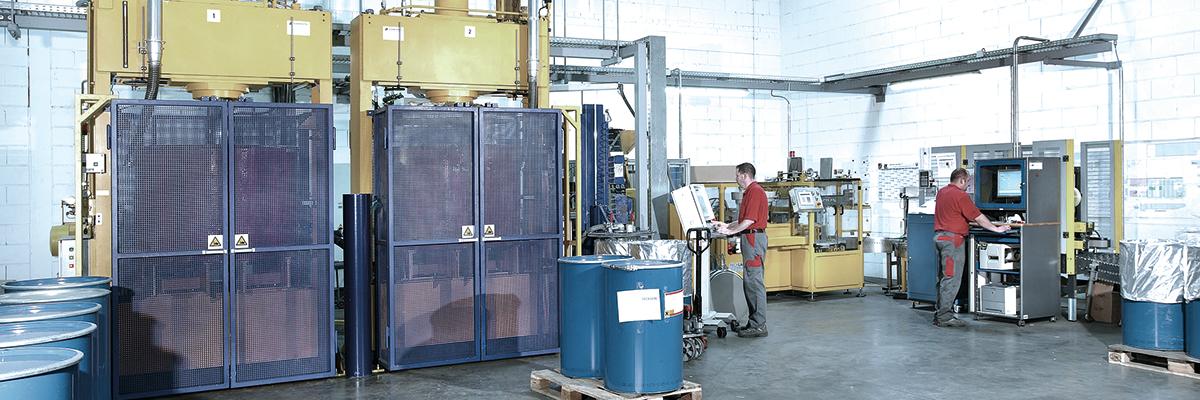 Ausbildung zum Maschinen- und Anlagenführer bei Weiss in Haiger