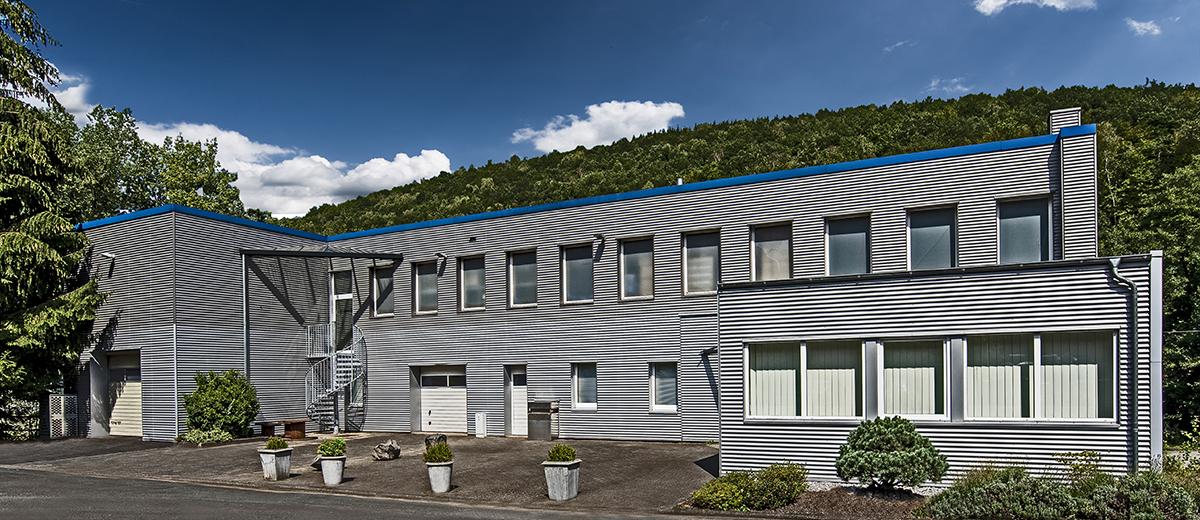 Firmengebäude Pudol - Reinigungsmittel und Pflegemittel