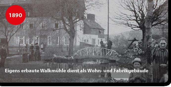 Walksmühle und Wohnsitz der Weiss Leimfabrik
