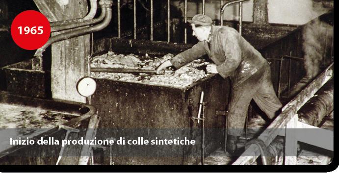 Inizio della produzione di colle sintetiche