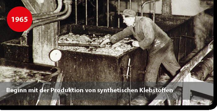 Herstellung von synthetischen Klebstoffen
