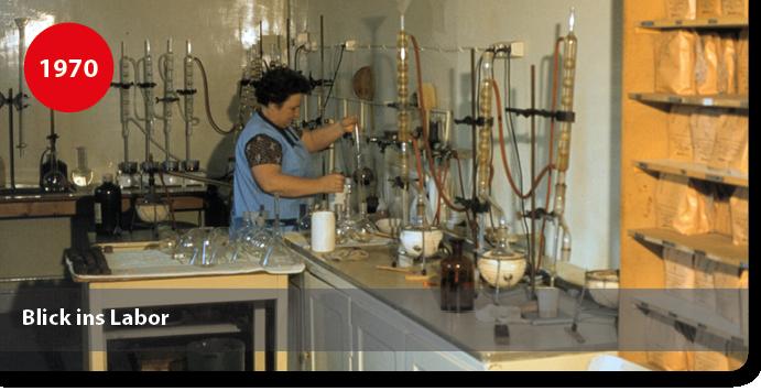Chemielabor für Klebstoffe