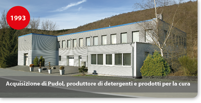 Acquisizione di Pudol, produttore di detergenti e prodotti per la cura