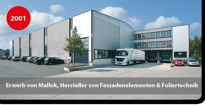 Firmengebäude Mallok, Hersteller von Sandwichelementen und Foliertechnik für Sandwichelemente