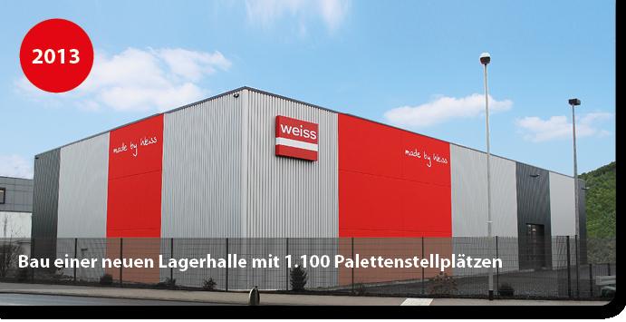 Neubau Lagerhalle für Verpackungsmittel für Klebstoffe