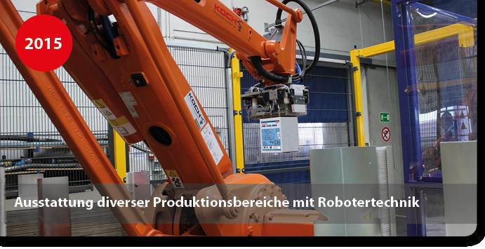 Roboter für die Herstellung von Klebstoff