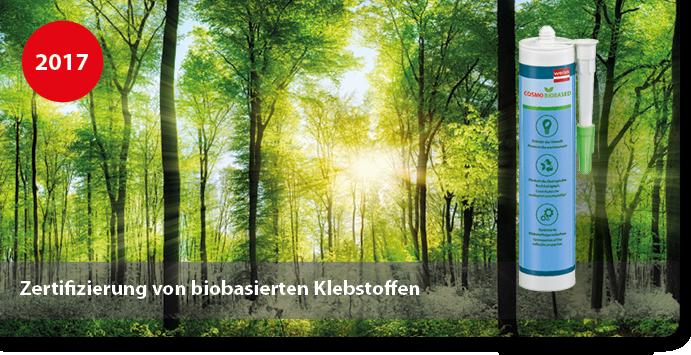 Zertifizierung von biobasierten Klebstoffen