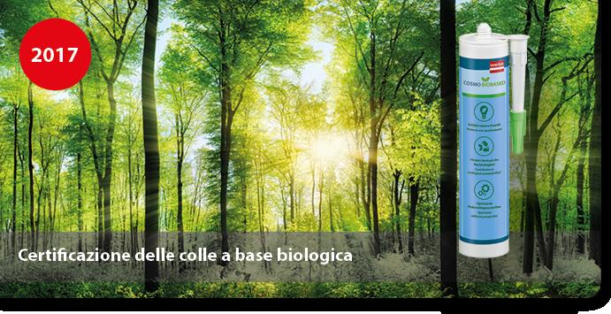Certificazione delle colle a base biologica