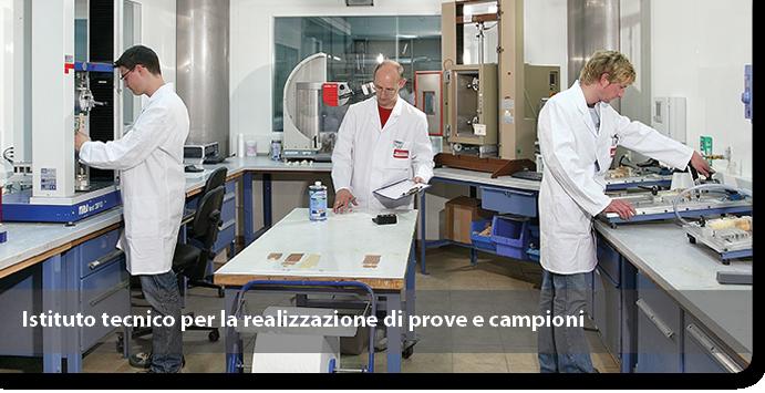 Istituto tecnico per la realizzazione di prove e campioni