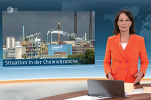 ZDF heute - Situation in Chemie Branche