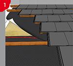 Colle d'étanchéité pour écrans de sous-toiture pour le collage et l'étanchéification