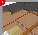 Étanchéification des collages bord à bord et des joints entre panneaux isolants en fibres de bois
