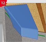 Collage des raccordements pour écrans pare-vapeur / barrières pare-vapeur, la solution biosourcée !