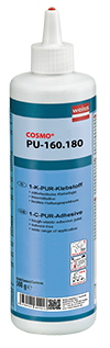 COSMO PU-160.180 Colle de puissante de bonne fluidite PUR à 1 composant