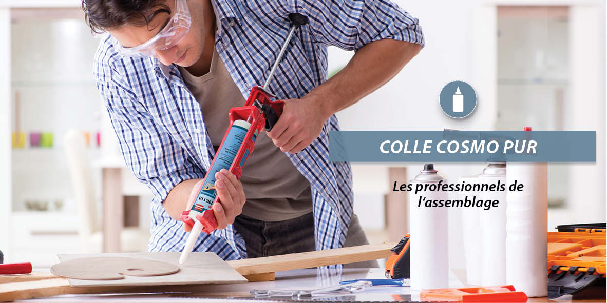 Colle COSMO PUR assemblage