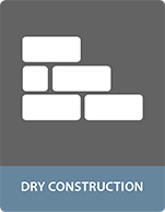 Bonding dry construction