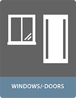 Bonding applications windows and doors