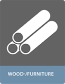 Bonding with adhesives wood applications - furniture industry