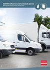 COSMO Adhesives and Composite panels for special vehicle and caravan construction