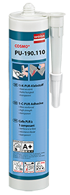 COSMO PU-190.110 - 1-part PUR constructional adhesive
