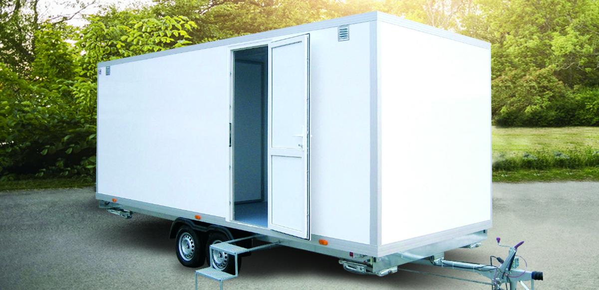 Composite panels for the trailer construction