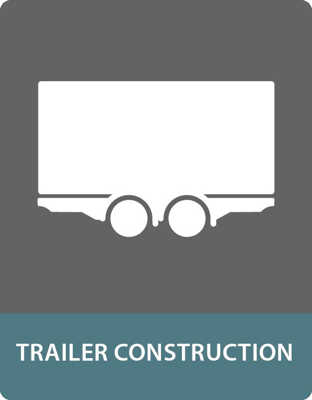 Sandwich panels for the trailer construction
